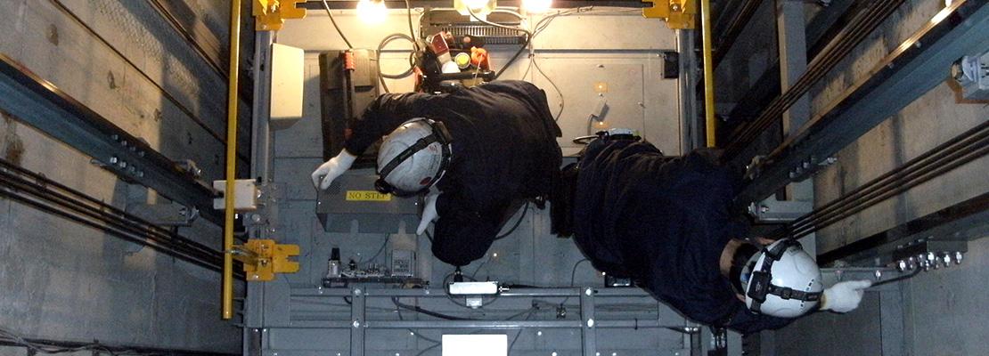昇降機設備課イメージ